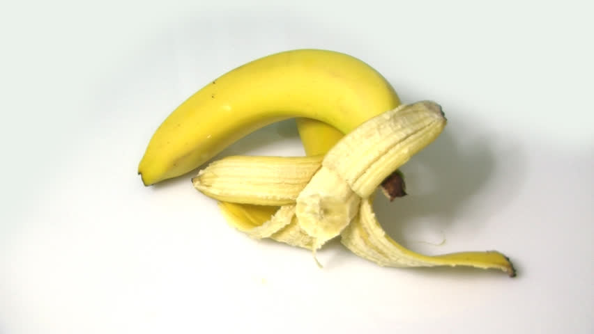 rotating bananas - HD stock footage clip