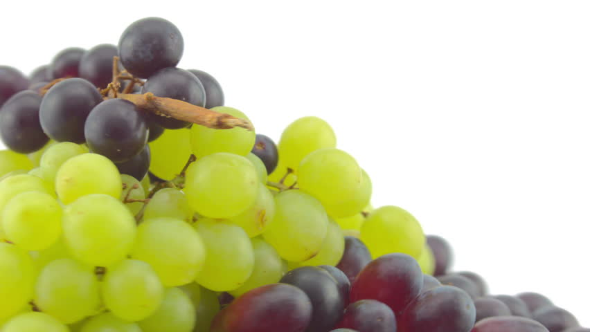 Dizzy spinning top of a pile of Grapes
