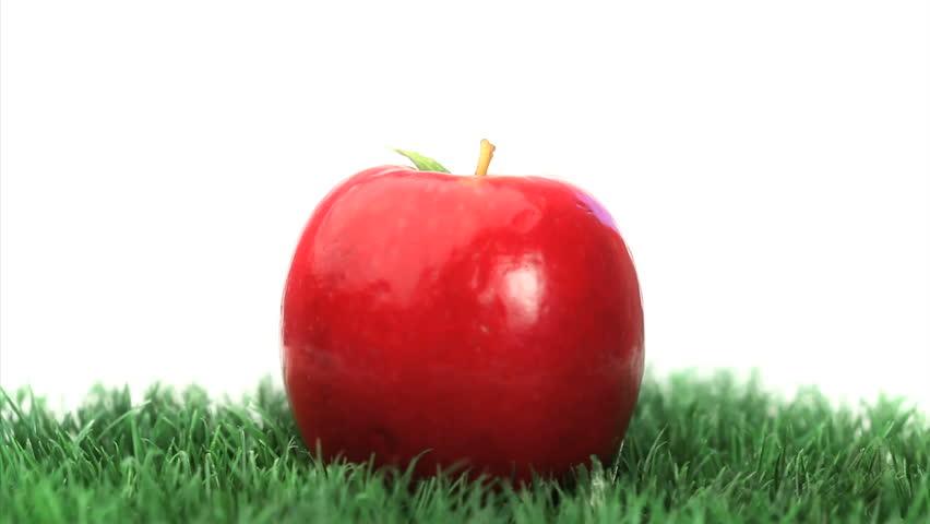 apple fruit background grass - photo #11