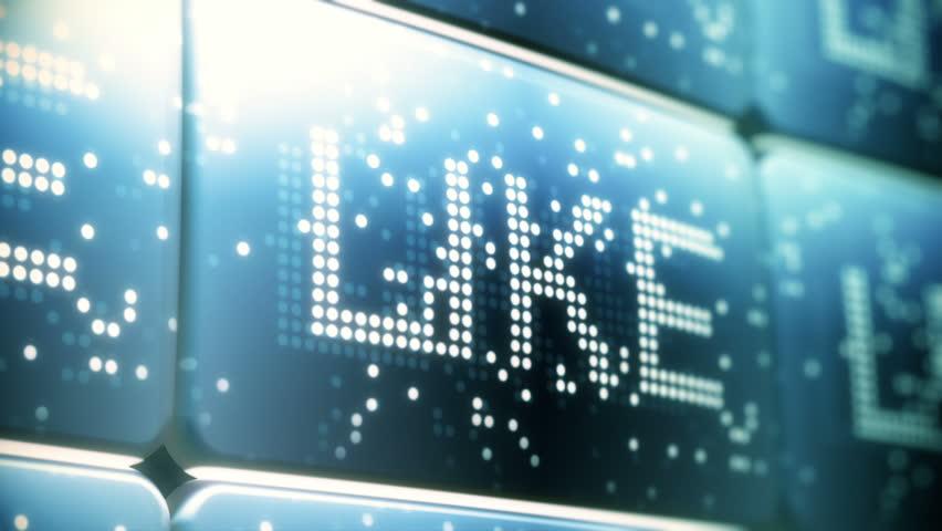 Social Network Screen Animation