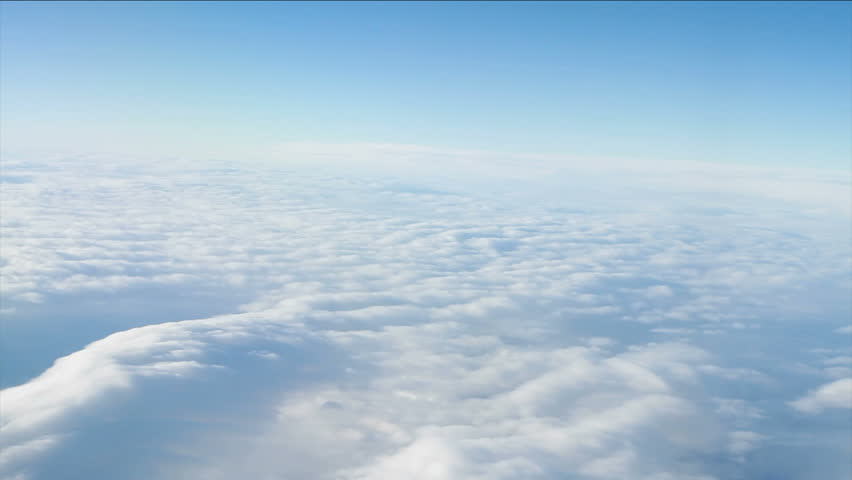 TWO F18 Fighter Jets flying high above the clouds. (Highly detailed animation of F18 Fighter Jet rendered with Mental Ray). - HD stock video clip