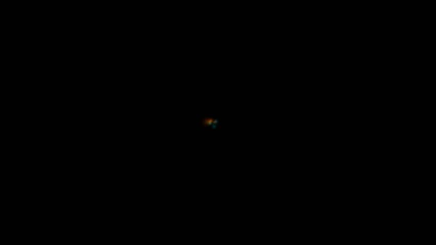 rotation electric ray light and fiber optic shaped swirl blackhole  - HD stock video clip