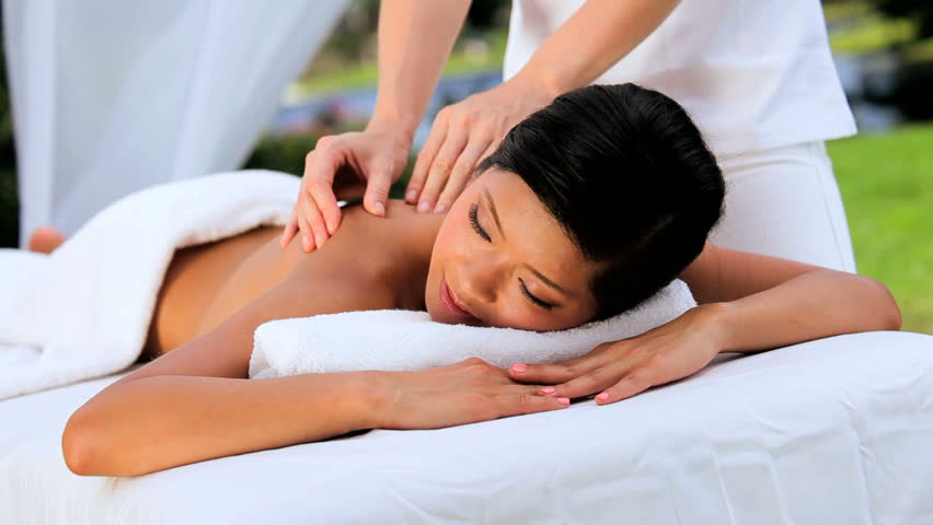 asian massage clips