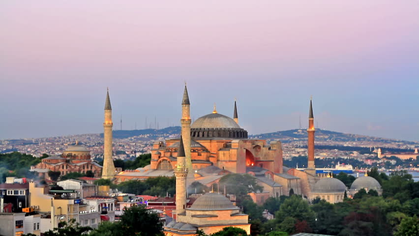 Hagia Sophia is the famous historical building of Istanbul. Now it's a museum as