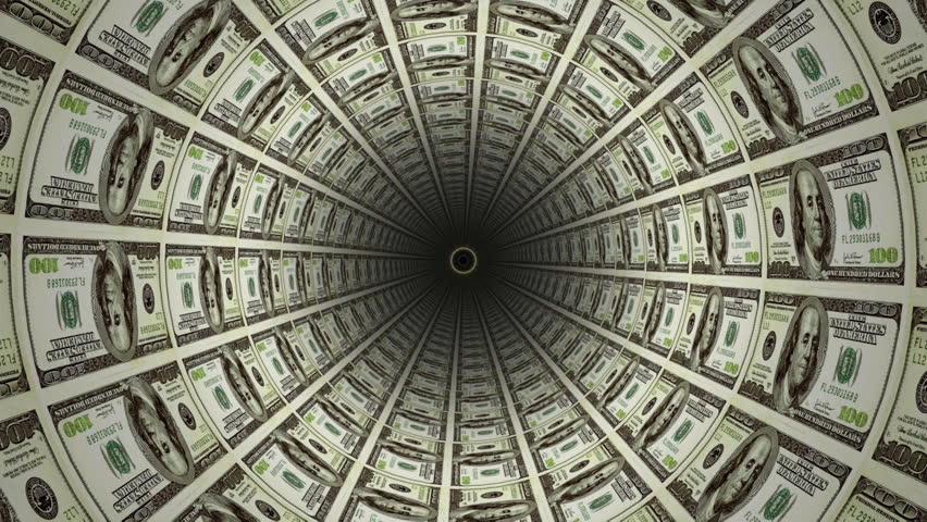 Money Tunnel Stock Footage Video 134491 - Shutterstock