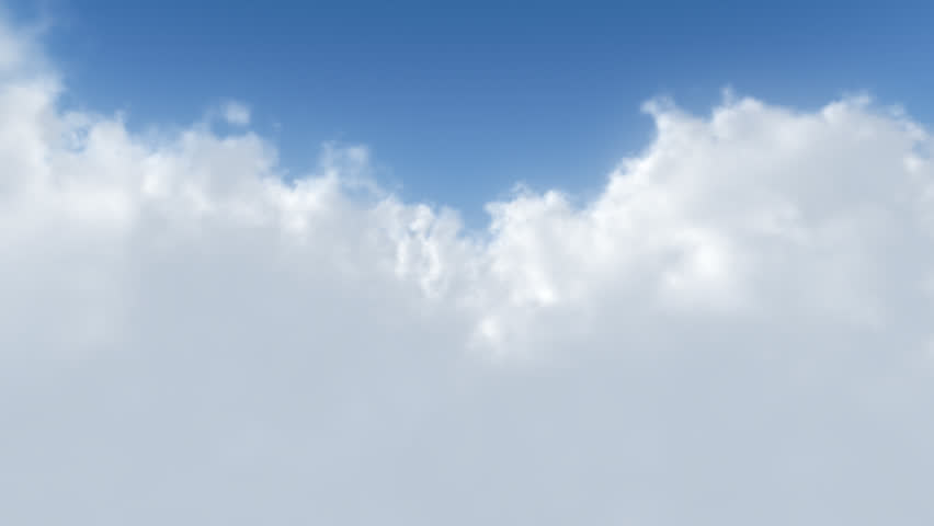 A smooth looping flight through the clouds. (No colour clipping) #1352749