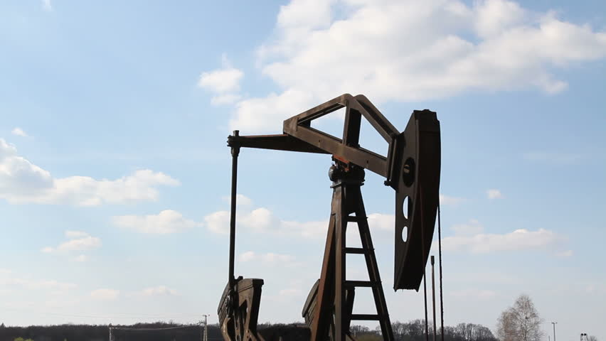 oil pump - HD stock footage clip