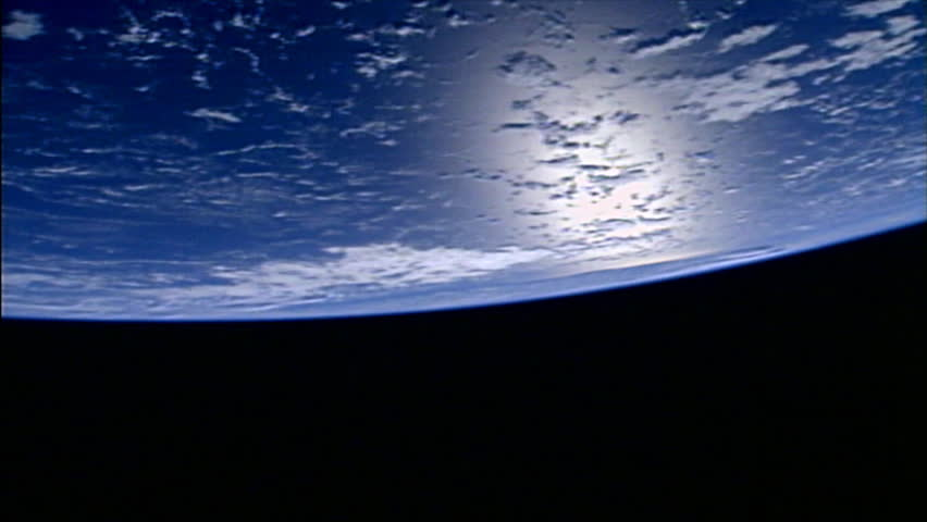 Close-up of the planet earth slowly moving in space. - HD stock footage clip
