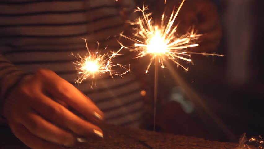 Flashing Sparkles  | Shutterstock HD Video #14285326