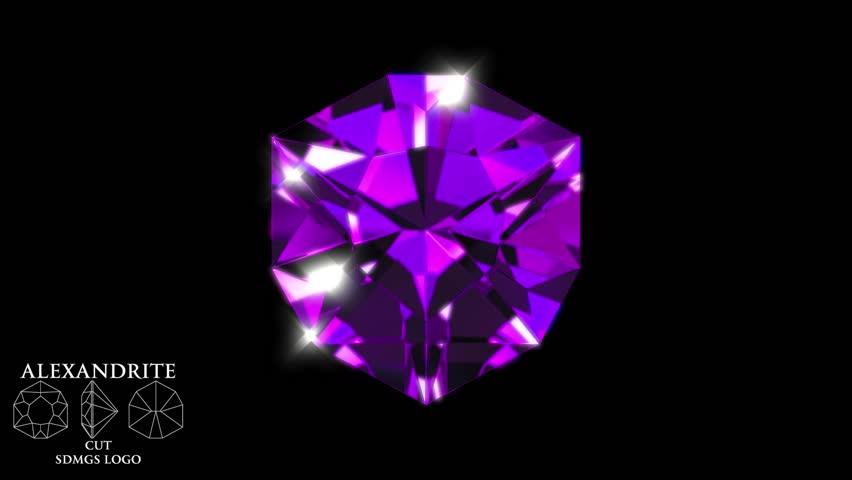Header of alexandrite