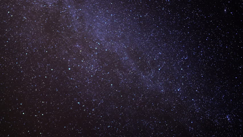 Milky Way Galaxy 79 Zoom Out Timelapse Mojave Desert Red ...