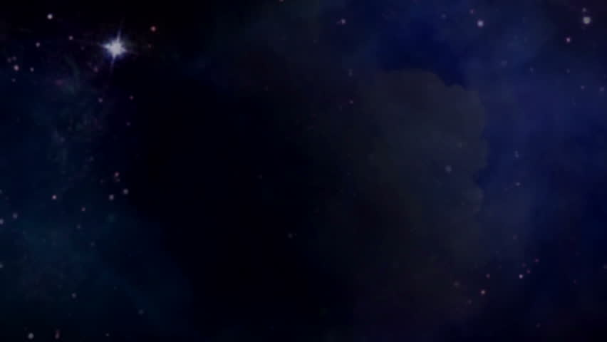the zodiac sign forming from the twinkle stars with space background - Elements of this Image Furnished by NASA - HD stock video clip
