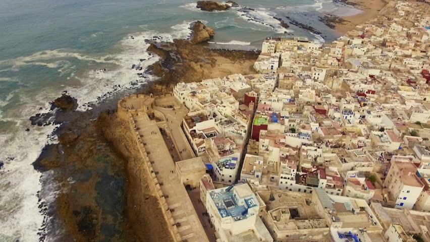 City of Essaouira in Morocco with the DJI Phantom 3