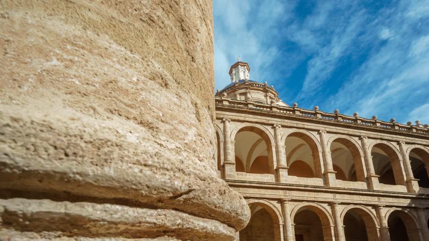 Monastery Of San Miguel De Los Reyes time lapse