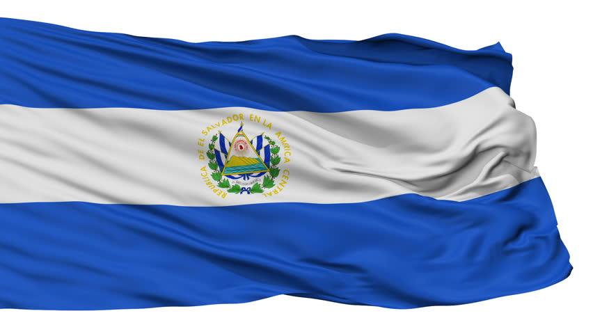HD Waving Flag - El Salvador Stock Footage Video 8188921 ...