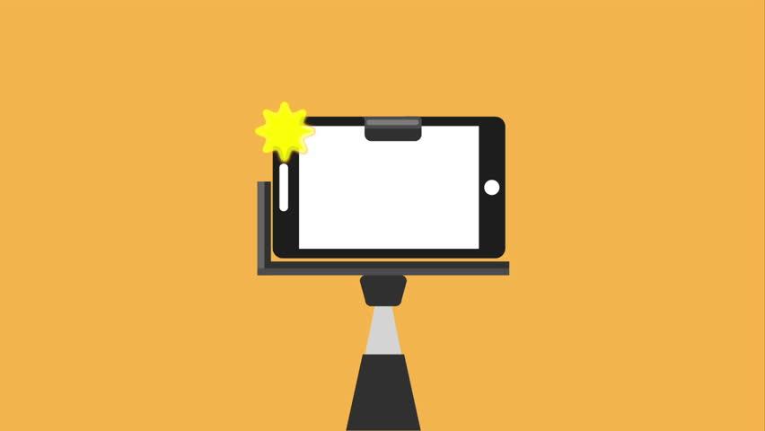 selfie photography design, Video Animation