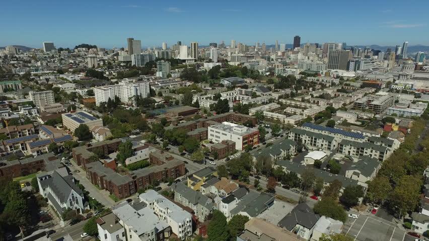San Fransisco, California, aerial shot