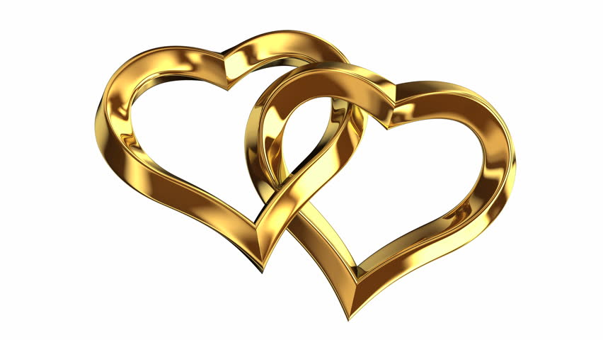 animation of heart shape wedding ring includes alpha