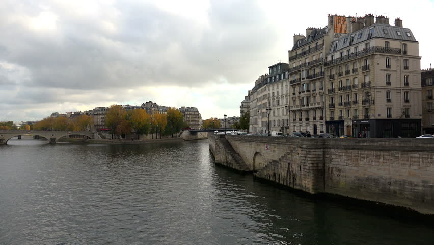 The River Seine in Paris. France. | Shutterstock HD Video #14565406
