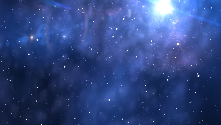 space background - HD stock footage clip