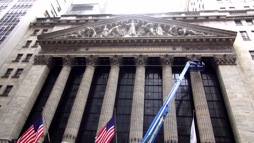 Tour of wall street new york stock exchange exterior wall street