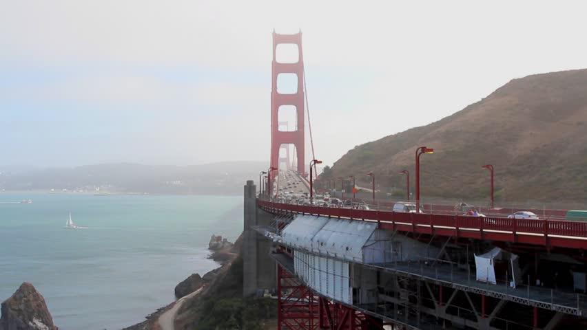 San Francisco April 04 View Of Golden Gate Bridge San Francisco April 04 2013 In San