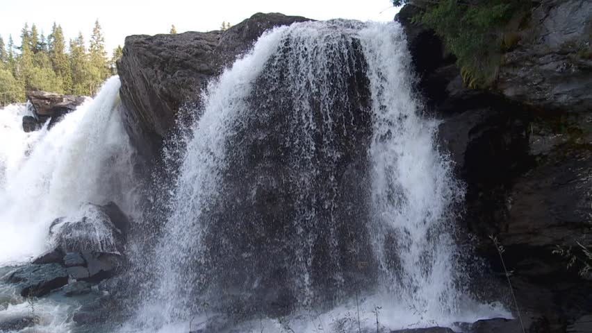 waterfall - HD stock video clip