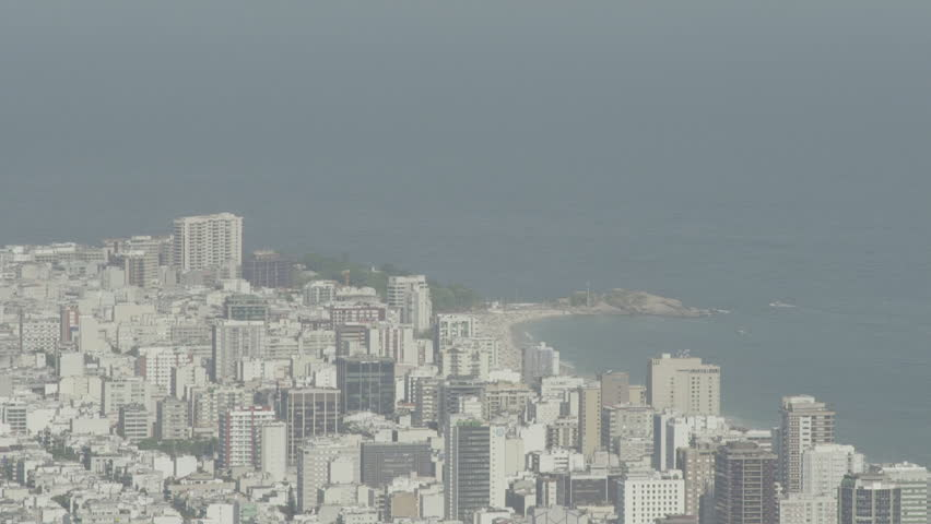 Rio de Janeiro, Brazil - CIRCA February 2014: Large view of the city with its skyscrapers.  | Shutterstock HD Video #14747206