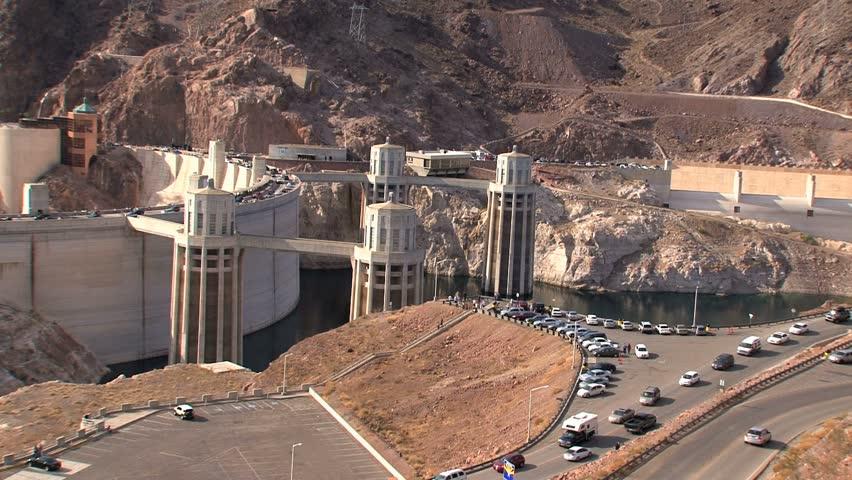 Hoover Dam. - HD stock video clip