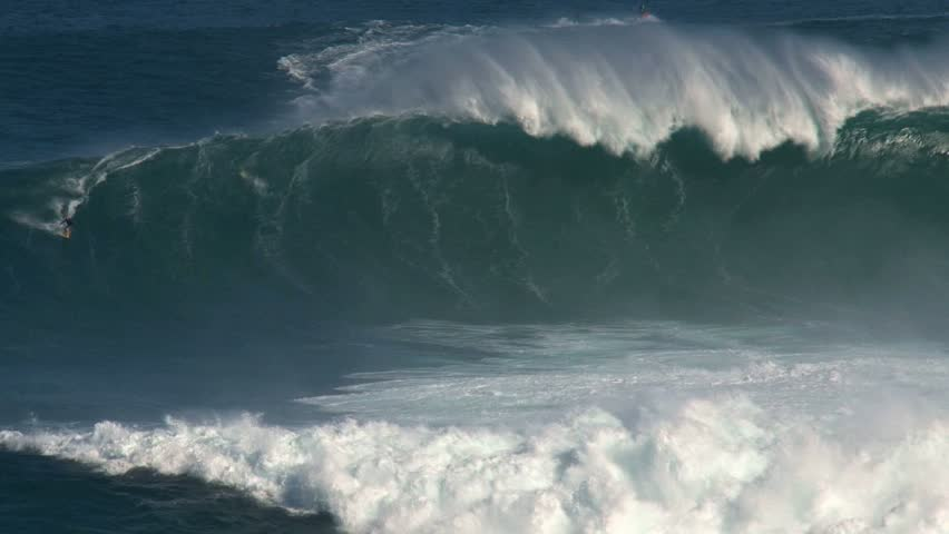 MAUI, HAWAII - CIRCA NOVEMBER 2010: Surfing in Maui, Hawaii. - HD stock video clip