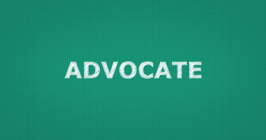 Header of advocate