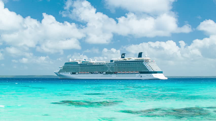 Celebrity Solstice Footage Stock Clips