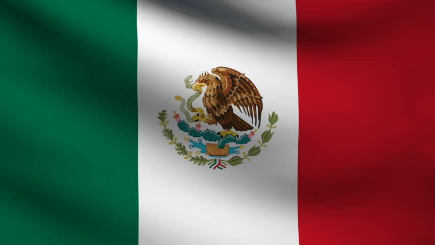 loopable flag of mexico mexican official flag gently