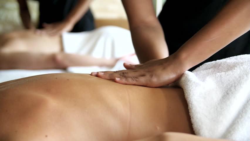 Couples Massage Slow Motion 3 #15082906
