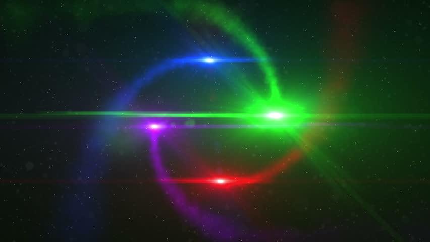 4k rainbow shining space - photo #46