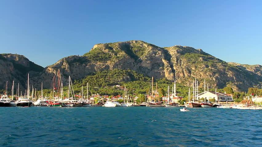 Yacht marina. Gocek hosts six marinas serving the yacht tourism in the region: D-Marin Gocek, Club Marina, Gocek Village Port, Skopea Marina, Marinturk Gocek Exclusive and Municipal Marina.
