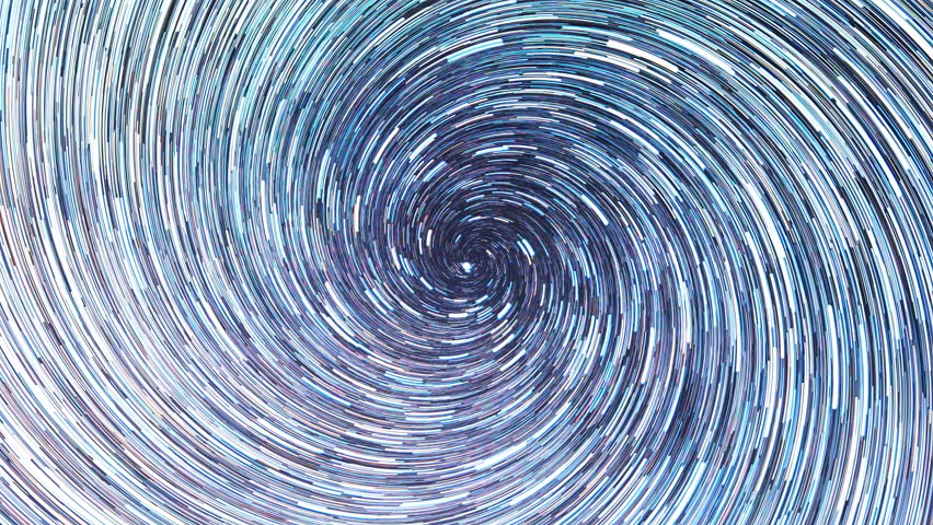 Stars draw a line in the sky. screw spiral. Night, Russia. UltraHD (4K)