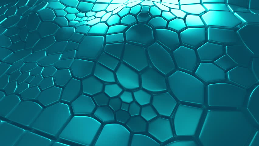 Abstract 3d loopable background with extruded polygons | Shutterstock HD Video #15359890