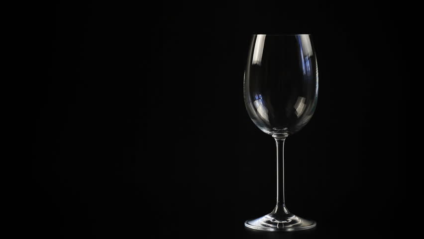 Stylized Scene Of A Glass Of Wine The Bottle And Some