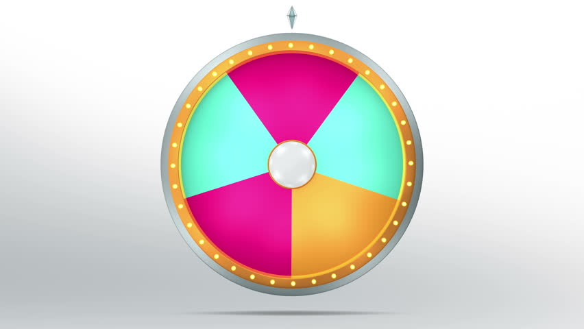 The wheel of fortune or Lucky spin animation was created by Three Dimensional. Video is included the alpha channel and motion loop.  Welcome to use for game and sale promotion concept. | Shutterstock HD Video #15687391