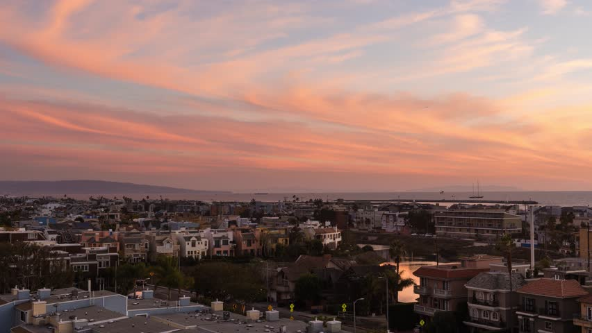 Rooftop Sunset in Marina Del Rey