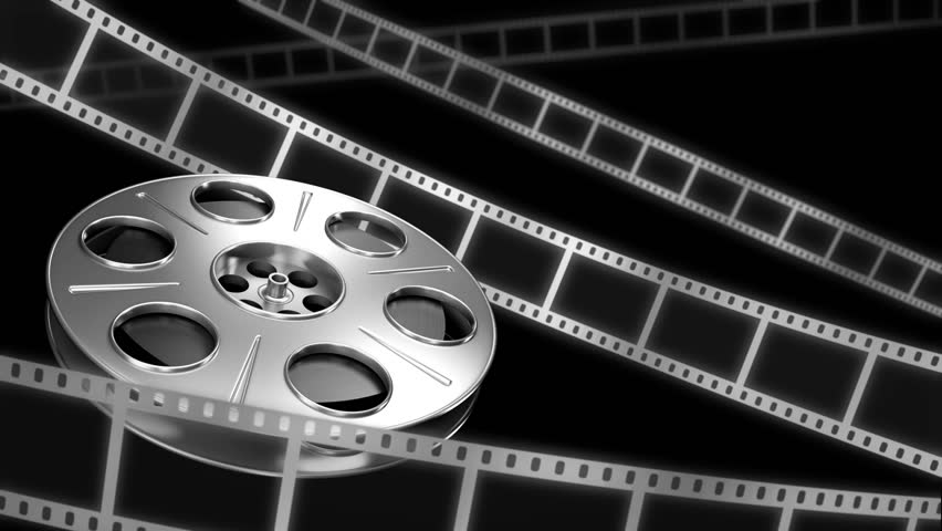 Film Reel Background Stock Footage Video 1581349 ...