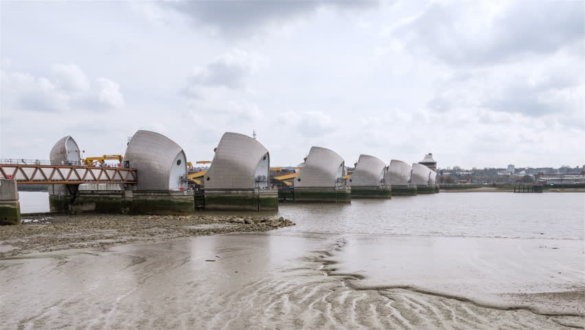 Image result for Mother(ship) of all sightings at Thames Barrier