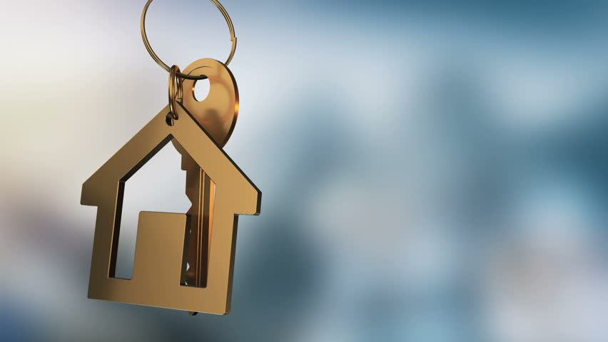 Hand holding a house key house key stock footage video for New house image hd