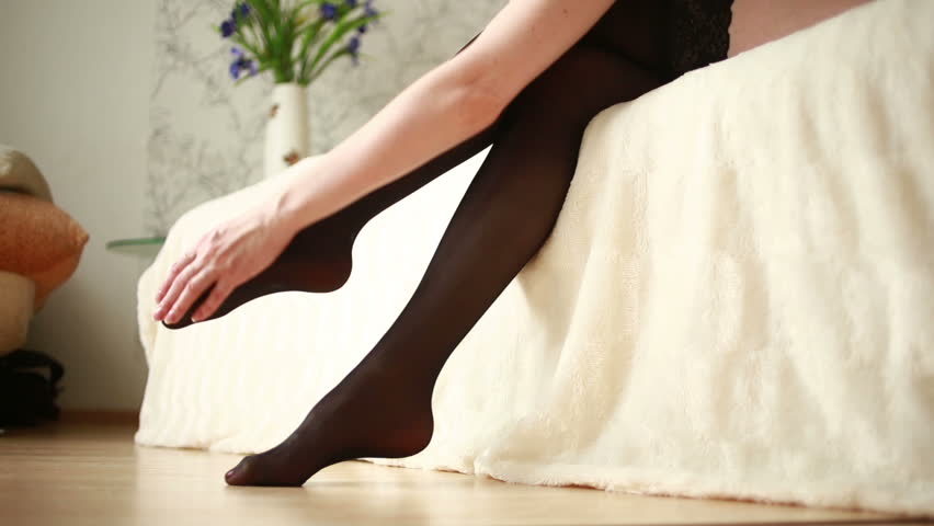 Videoclips nylons pantyhose handjob