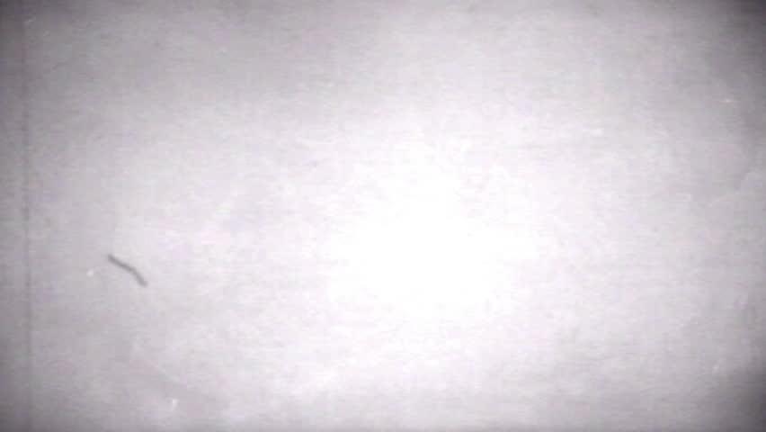 Old Distorted Damaged Film Blinking Frame Vintage Footage 16mm real | Shutterstock HD Video #16088422