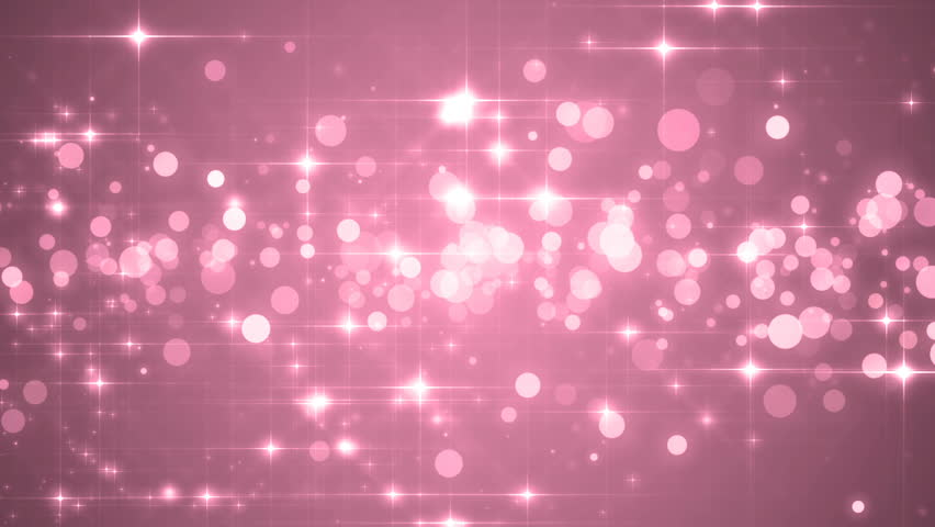 Lights pink bokeh background. Elegant pink abstract. Disco background with circles and stars. Christmas Animated background. loop able abstract background circles. | Shutterstock HD Video #16100194