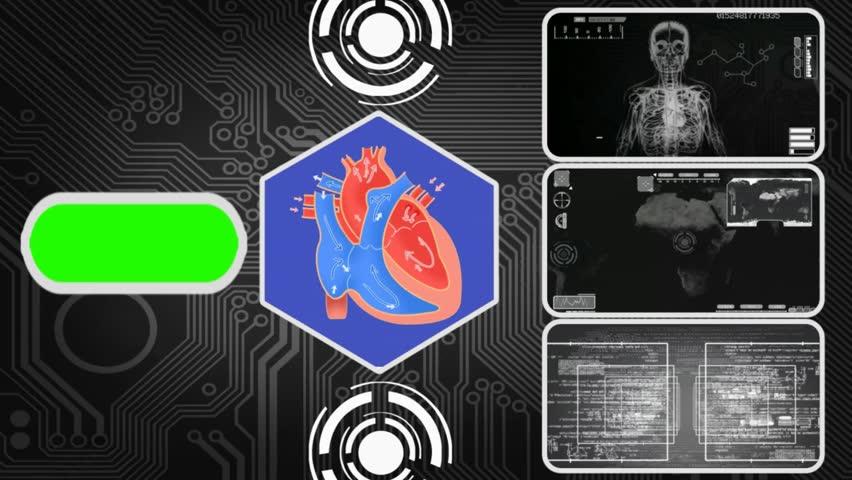 Heart in analysis   Shutterstock HD Video #16153591