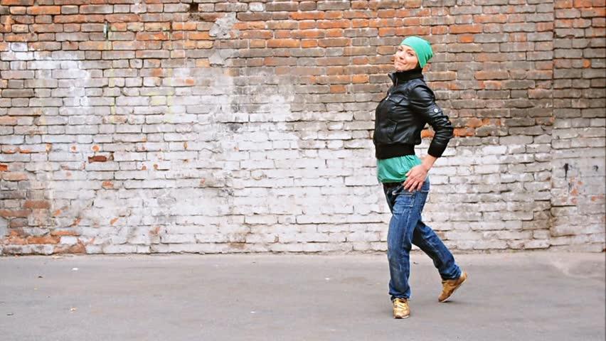 Street dancer doing acrobatics | Shutterstock HD Video #1617358