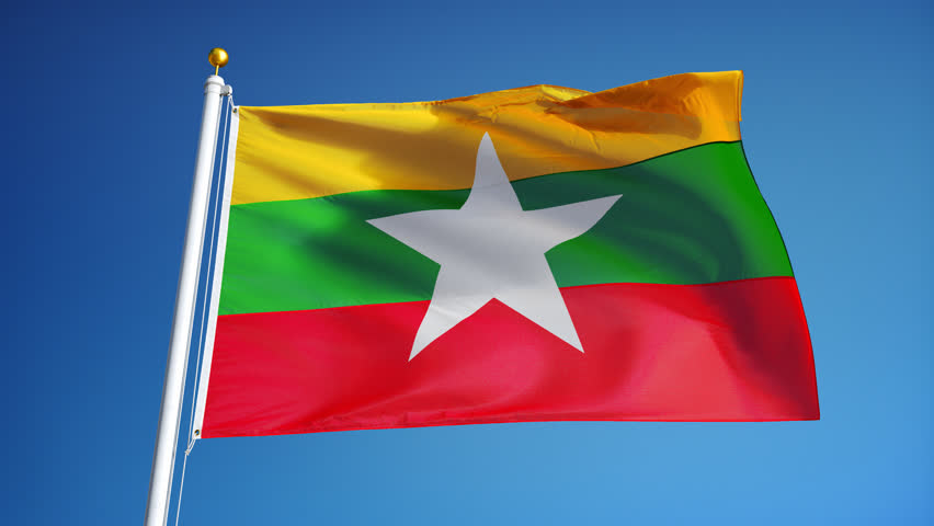 Vietnam Flag Waving Against Time-lapse Clouds Background Stock Footage Video 3031552 ...